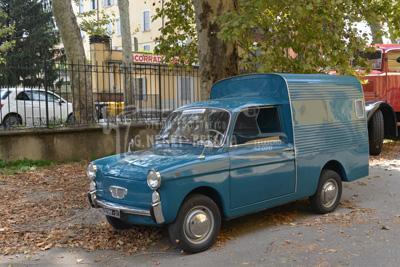 Auto Autobianchi Bianchina furgone tetto alto