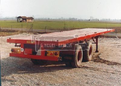 Acerbi semirimorchio tipo 02B per  trasporto container